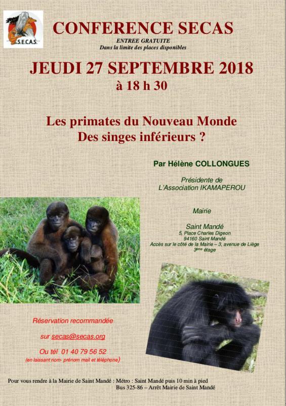 Conference secas ikamaperou 27septembre2018
