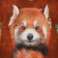 T-shirt Panda roux 2