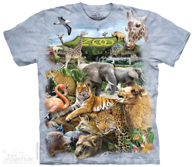 Tee-shirts animaux sauvages